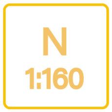 N (1/160e)