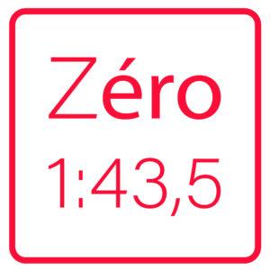 Zéro (1/43,5e)